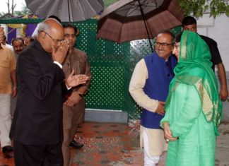 To be president of india meeting CM jammu kashmir