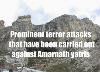 prominent terror attacks that have been carried out against Amarnath yatris