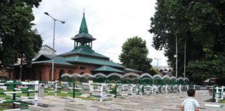 Martyar grave yard srinagar