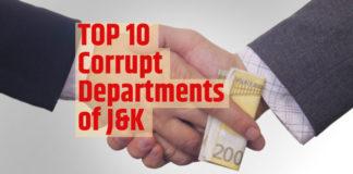 most corrupt department jammu kashmir