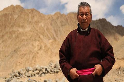Ice Man of Ladakh Chewang Norphel who builds artificial glaciers