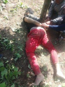 Hillal Rashid was abducted