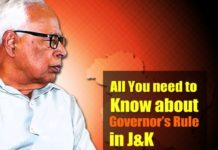 all about governors-rule jammu kashmir