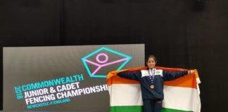 Ace fencer of J&K Shreya Gupta