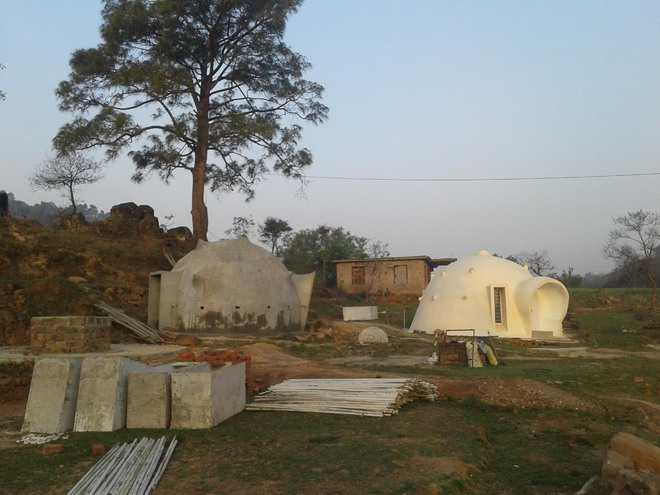igloo-like hut majalata jammu