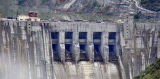 Bursar hydroelectric power project in the Marwah tehsil of Kishtwar