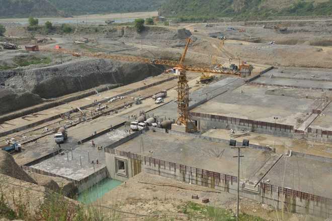 Shahpur Kandi project