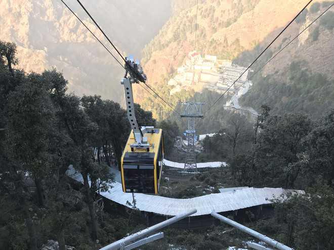 Bhawan-Bhairon passenger ropeway project