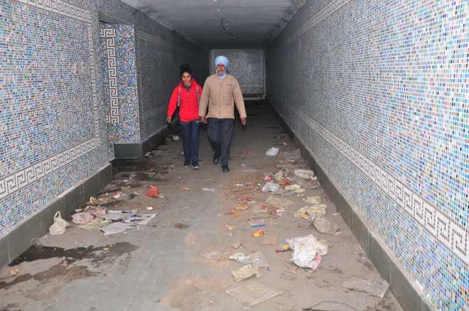 underpass Jammu
