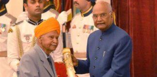 Padma Shri to Shri Narsingh Dev Jamwal