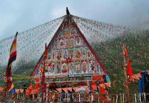 Chandi Mata Temple in Kishtwar where Machail
