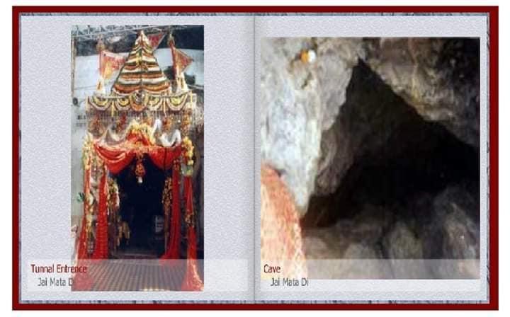 inside Mata Vaishno Devi cave